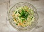 Салат из молодой капусты 6