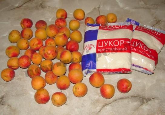 ингредиенты для абрикосового варенья
