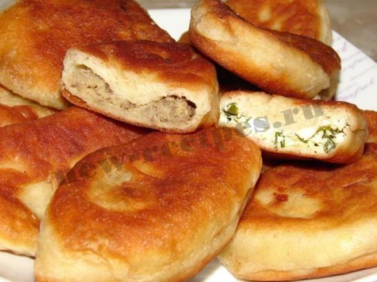 Пирожки с картошкой из дрожжевого теста в духовке рецепт с 48