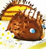 Слоистый ежик в шоколадной глазури