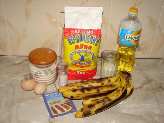 оладьи банановые рецепт с фото