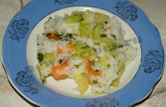 Кабачки с рисом 10