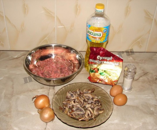 Овощные котлеты с грибами, пошаговый рецепт с фото