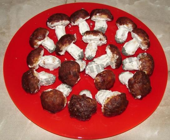 """Печенье """"Грибочки"""" – кулинарный рецепт"""