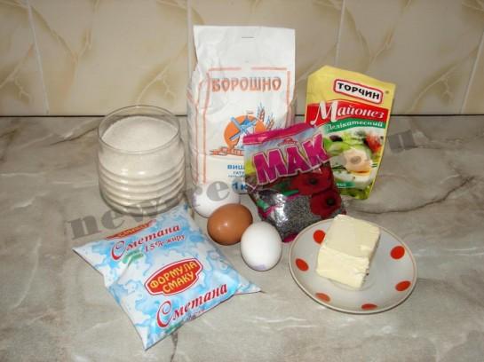 Пирог с маком 1
