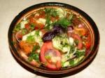 Салат разноцветный 6