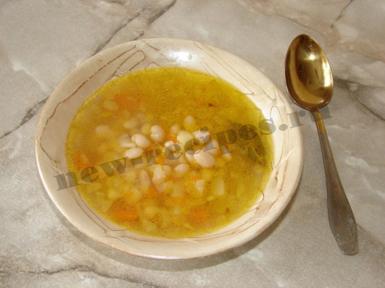 Фасолевый суп 7