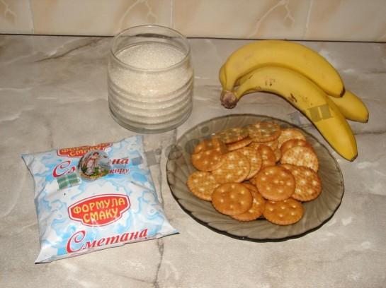 Банановые пирожные 1
