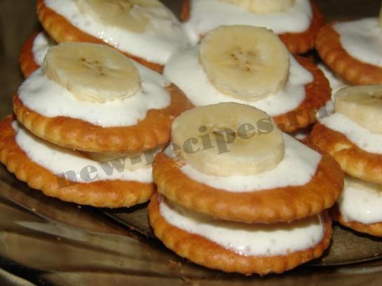 Банановые пирожные