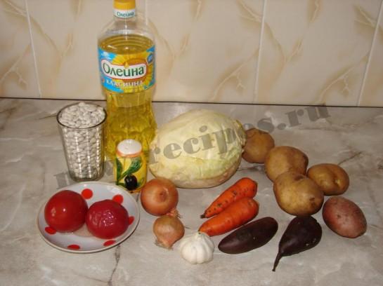 Борщ с фасолью 1