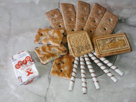 Домик из печенья 1