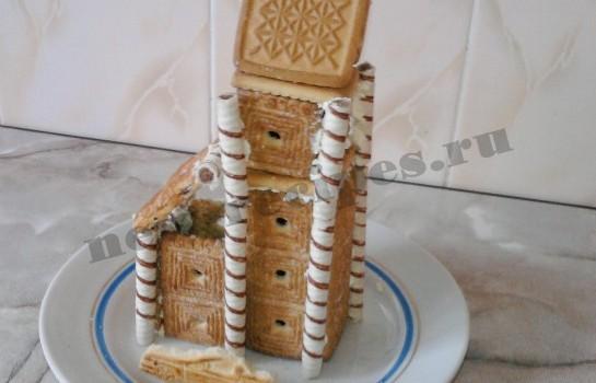 Домик из печенья 10