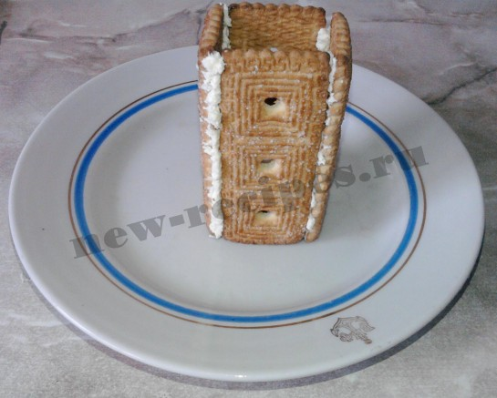 Домик из печенья 3