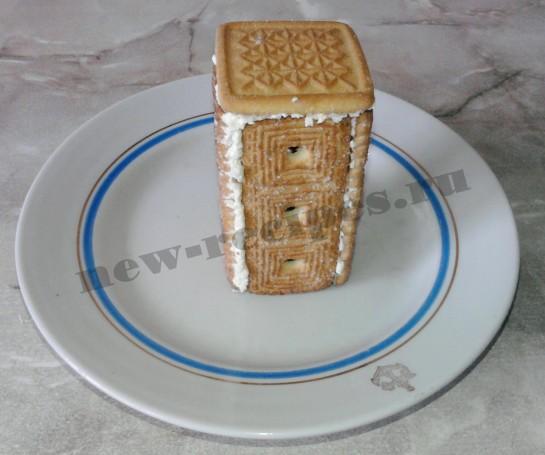 Домик из печенья 4