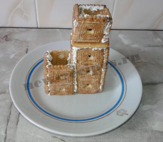 Домик из печенья 6