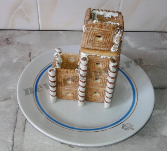 Домик из печенья 7