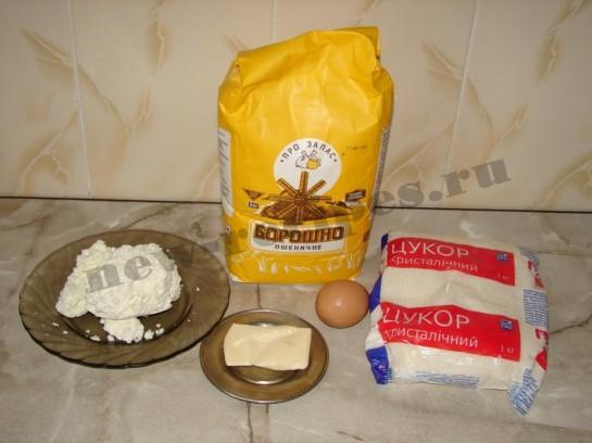 Печенье творожное розочки 1