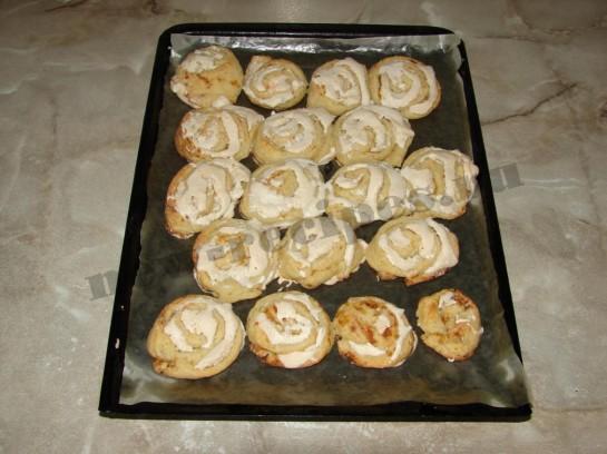Печенье творожное розочки 13