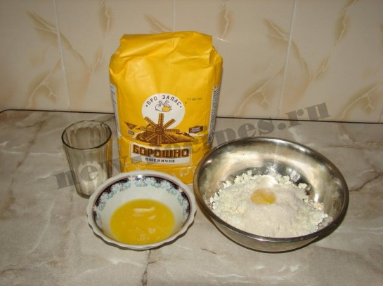 Печенье творожное розочки 2