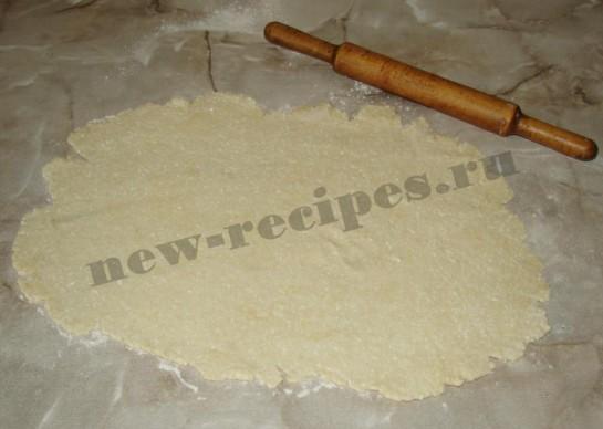Печенье творожное розочки 7