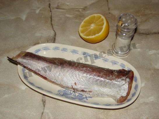 Рыба запеченная под майонезом 2
