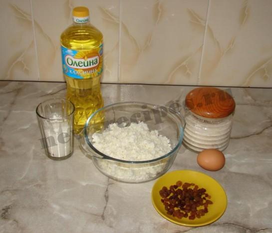 Сырники с изюмом 1