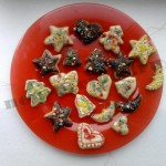 Новогоднее печенье — украшение на елочку
