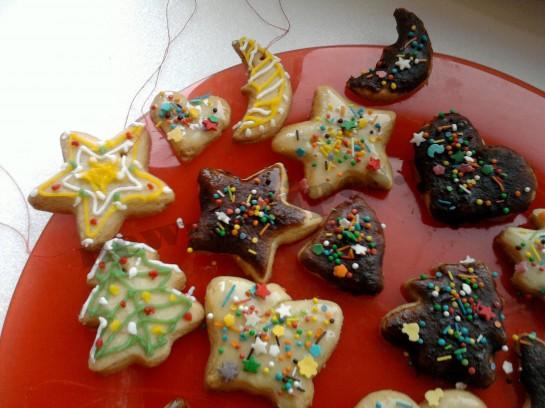 рецепты украшения новогоднего печенья