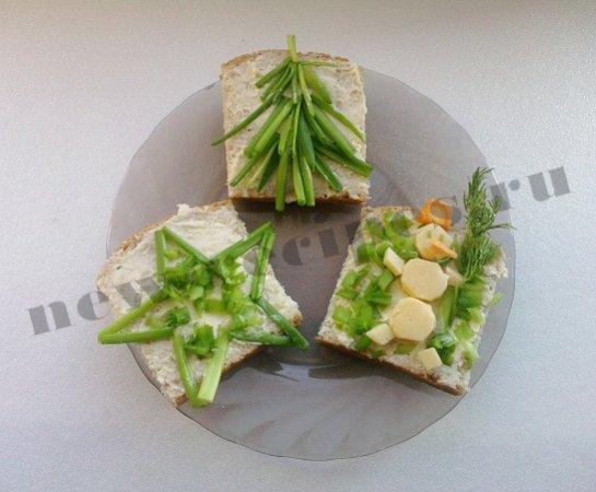 Новогодние бутерброды 3