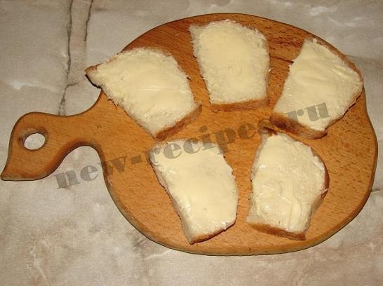 Бутерброд с селёдкой 2