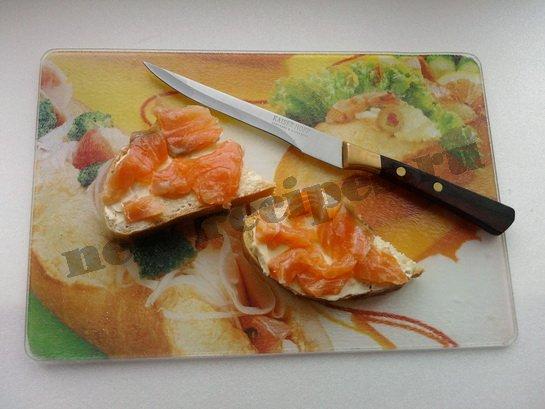 бутерброды с красной рыбой 4