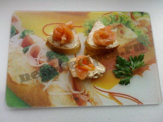 бутерброды с красной рыбой 9