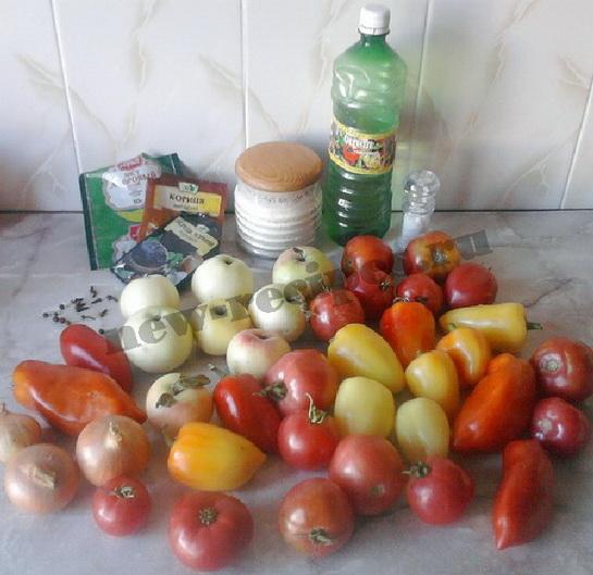 домашний томатный кетчуп 1