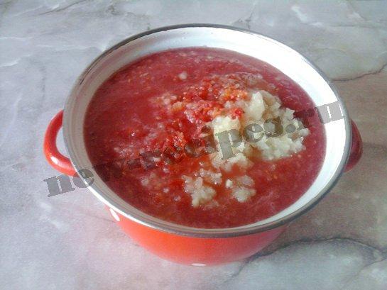 домашний томатный кетчуп 2