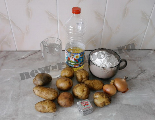 жареные пирожки из дрожжевого теста с картошкой 1