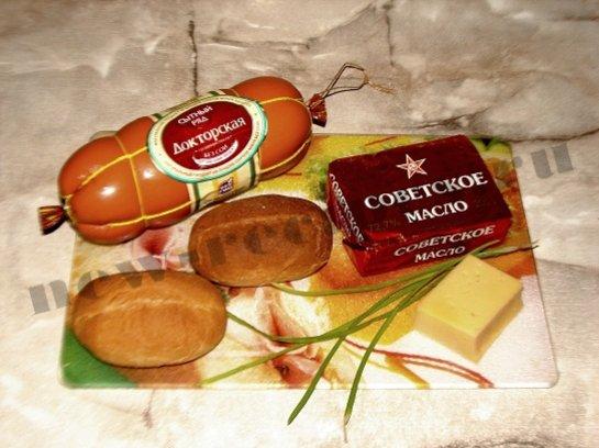 новогодние бутерброды 1