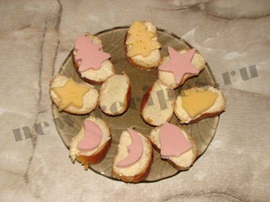 новогодние бутерброды 7