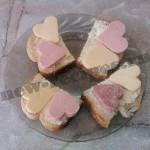 Бутерброды для любимых ко Дню Валентина