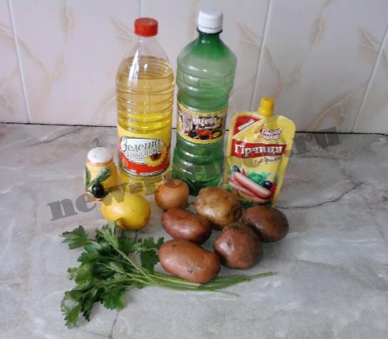картофельный салат 1