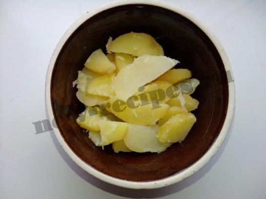 картофельный салат 3