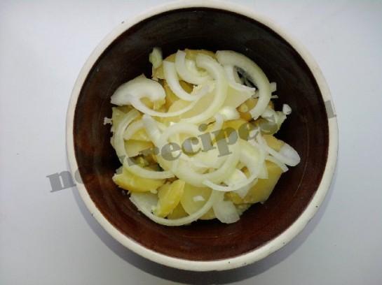 картофельный салат 4