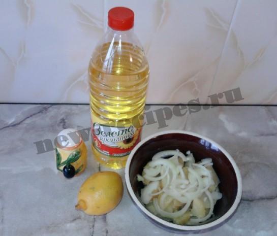 картофельный салат 6