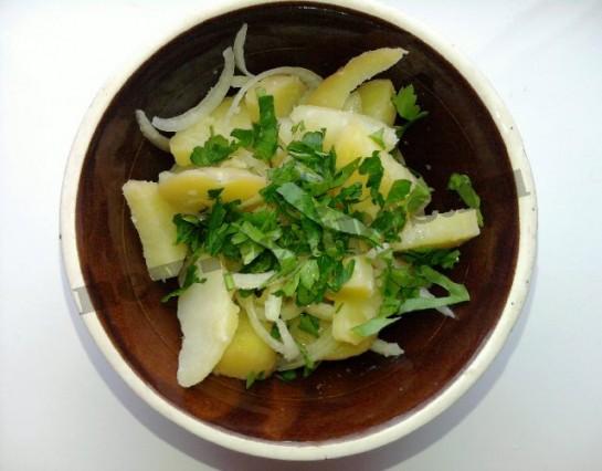 картофельный салат 7