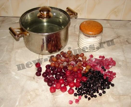 ингредиенты для компота-ассорти