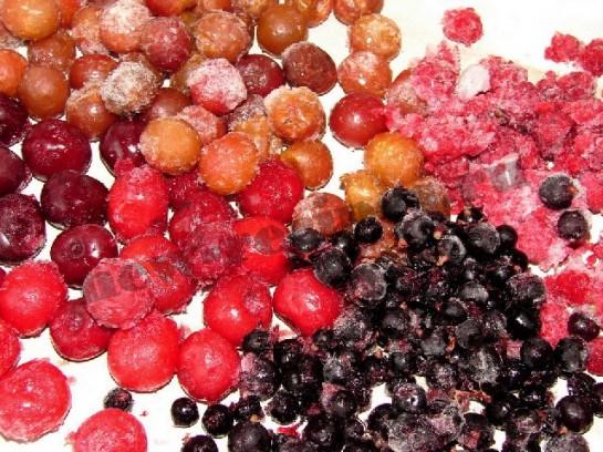 замороженные ягоды для компота