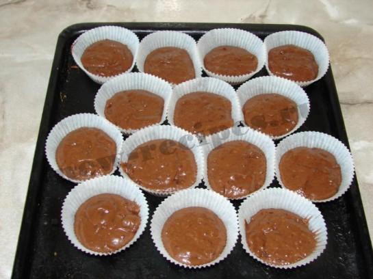 мини кексы Шоколадные бомбочки 10