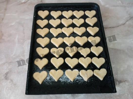 печенье в виде сердечек 11