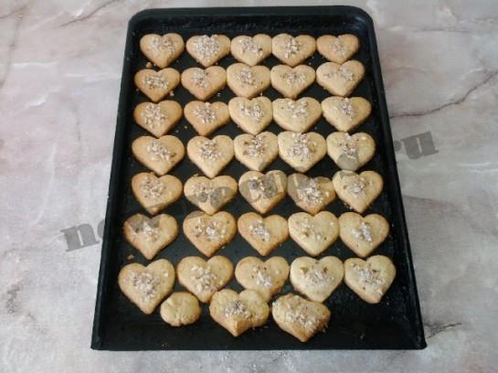 печенье в виде сердечек 14