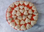 печенье в виде сердечек 15
