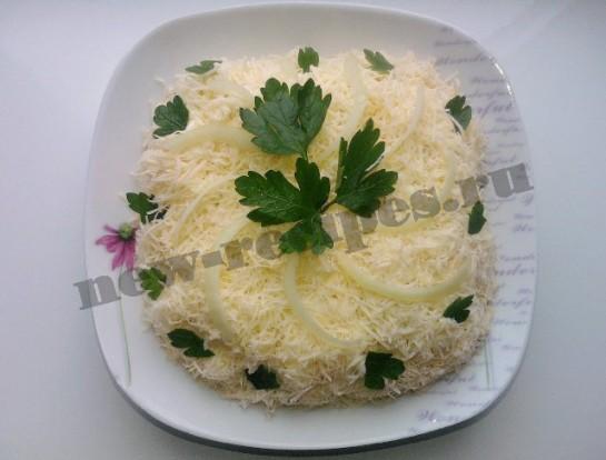 салат мужской каприз из свинины рецепт